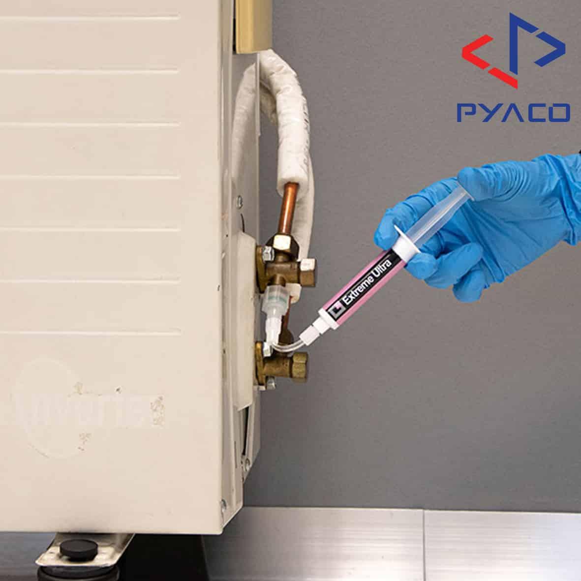 تزریق محلول نشتی گیر سیستم تراکمی به سیستم های تراکمی