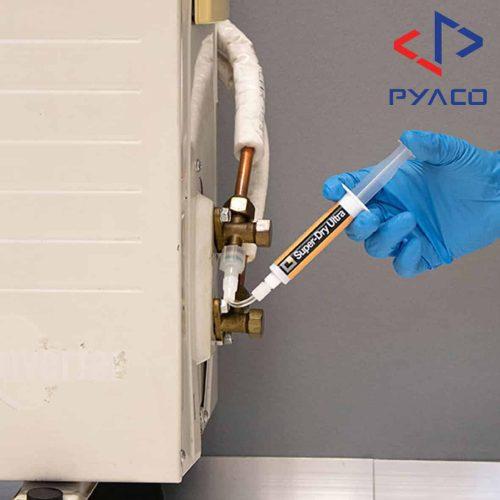 تزریق محلول رفع رطوبت به سیستم های تراکمی